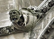 Gothic Cathedral Posters - Westminster Abbey Gargoyle 2 - London Poster by Daniel Hagerman