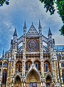 Medieval Entrance Posters - Westminster Abbey - North Transept Poster by Skye Ryan-Evans