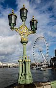 Westminster Bridge And The London Eye Print by John Hastings