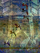 Byzantine Digital Art Prints - Westminster Cathedral Print by Ursula Freer