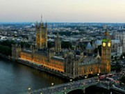 Tower Digital Art - Westminster Palace DA 01 by Lance Vaughn