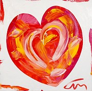 Challenging Prints - Wet Heart - edition 25 Print by Mac Worthington