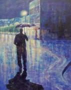 Wet Night Print by Susan DeLain