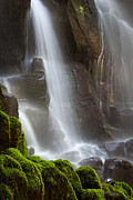 Ramona Falls Posters - Wet Veil Poster by Chris Moore