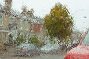 Wet Window Posters - Wet windscreen Poster by Tom Gowanlock