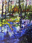 Ginette Callaway - Wetland Reflections Modern Impressionism