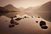 Cumbria Prints - Wetlands Mornings Print by Evelina Kremsdorf