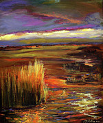 Julianne Felton - Wetlands sunset IV