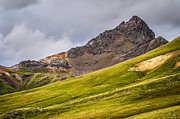 Slide Rock Prints - Wetterhorn Peak Print by Aaron Spong