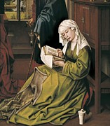 Teachings Metal Prints - Weyden, Rogier Van Der  1400-1464. The Metal Print by Everett