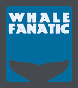 Fanatic Digital Art Prints - Whale fanatic Print by Shawn Hempel