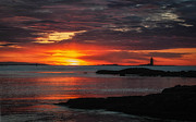 Whaleback Lighthouse Print by Scott Thorp