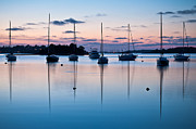 Lee Costa Acrylic Prints - Wharf Blue Hour Acrylic Print by Lee Costa