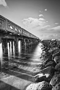 Long Street Framed Prints - Wharf Framed Print by Hawaii  Fine Art Photography