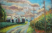 Painted Pastels - What a Corn Year by Tim  Swagerle