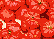 Italian Meal Prints - What a Tomato Print by Jean Hall