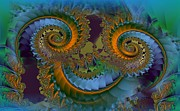 Fractal Art Digital Art - What Big Eyes You Have by Doris Wood