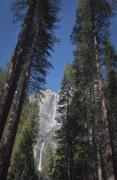 Yosemite Falls Metal Prints - What Came Before Us - Landscape Photos Metal Print by Laria Saunders