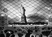 Liberty Island Digital Art - What has Liberty Become by Marshall Bishop