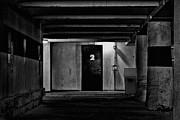 What Is Behind Door Number Two Print by Karol  Livote