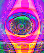 Multi Color Digital Art - What Is Seen by Wendy J St Christopher
