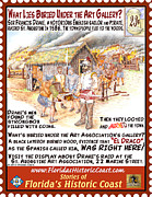 St. Augustine Mixed Media Posters - What Lies Buried Under the Art Gallery? Poster by Warren Clark