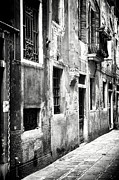 Old Street Metal Prints - What Secrets Wait Ahead Metal Print by John Rizzuto