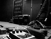 Neil Young Photo Prints - What Would Neil Young Do? Print by Daniel Schubarth