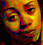 Brown Digital Art Originals - Whateva by Byron Fli Walker