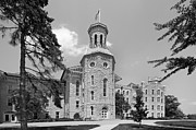 Hall Photo Prints - Wheaton College Blanchard Hall Print by University Icons
