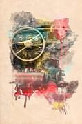 Wheel Print by Martin Dzurjanik