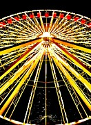 Whimsy Framed Prints - Wheel of Light Framed Print by Benjamin Yeager
