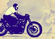 Motorcycle Metal Prints - Wheels Metal Print by Giuseppe Cristiano