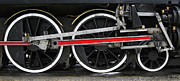Kingston Photo Prints - Wheels of the Kingston Flyer Print by Joe Bonita