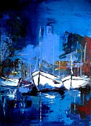 Fauvist Paintings - When Evening Comes by Elise Palmigiani