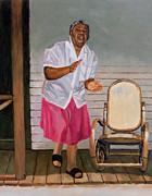 African American Paintings - When I Get That Feeling by Colin Bootman