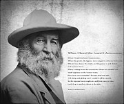 Walt Whitman Metal Prints - When I Heard The ... Astronomer Metal Print by Daniel Hagerman
