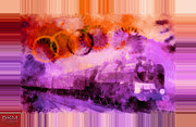 Barbara MacPhail - When Orange Meets Purple...