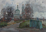 Russia Painting Originals - When the autumn is coming... by Juliya Zhukova