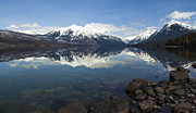 Apgar Photos - When the Sun Shines on Glacier National Park by Fran Riley