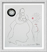 Clock Hands Mixed Media Framed Prints - When Time Stood Still Framed Print by Eve Riser Roberts
