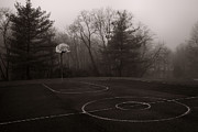 Basketball Court Prints - When We Were Young Print by Steven Ainsworth