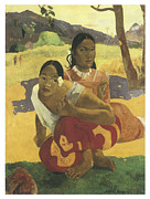 Proposing Posters - When Will you Marry Me Poster by Paul Gauguin