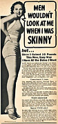 Skinny Posters - When Women Had Curves Poster by James Barnes