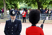 Policeman Photos - Where Can I Get a Uniform Like That by James Brunker