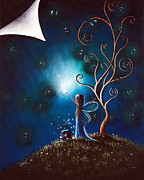 Enchanted Forest Paintings - Where Dreams Happen by Shawna Erback by Shawna Erback