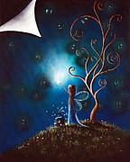 Where Dreams Happen By Shawna Erback Print by Shawna Erback