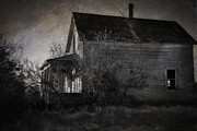 Abandoned Houses Photos - Where Fear Shadows by Dorothy Pinder