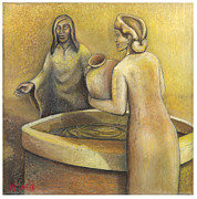 Woman At The Well Paintings - Where Grace Finds You by Whitney Tomlin
