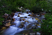 Water Flowing Prints - Where The Cool Water Flows Print by Jeff  Swan